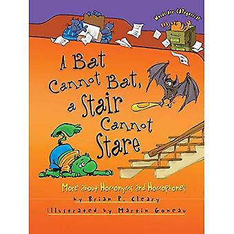 Kan niet een vleermuis vleermuis, een trap kan niet staren: meer over homoniemen en Woordherkomst en-opbouw (woorden zijn categorische (Paperback))