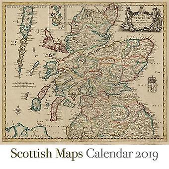 Scottish Maps Calendar 2019