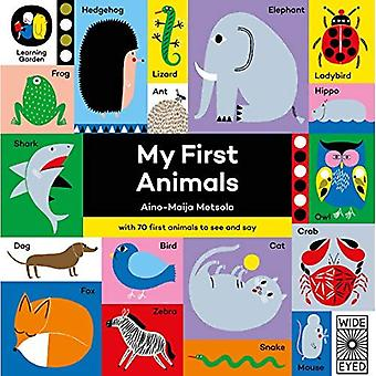 My First Animals (The Learning Garden) [Board book]