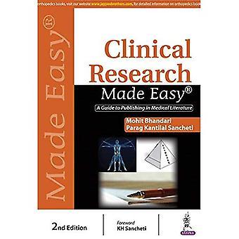 Klinisch onderzoek Made Easy: A Guide to Publishing in de medische literatuur