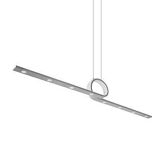 Curl otto lampada a sospensione grigio cemento leggero - Leds-C4 00-2017-CS-CS