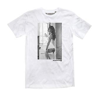 Headrush Mens HR Angels The Lookout T-Shirt - White - street vixen