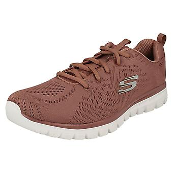 Ladies Skechers Casual Trainer Get Connected