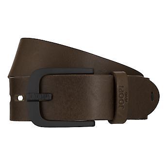 ¡JOOP! Correas cinturones hombres cuero cinturón verde oliva/7896