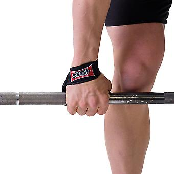 Sling Shot Nylon Weight Lifting Straps by Mark Bell - Simple loop design!