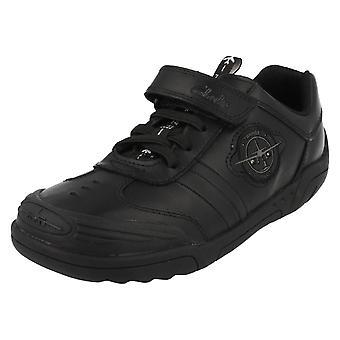 Boys Clarks School Shoes Wing Lite