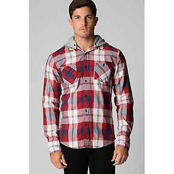 Deacon Rhode shirt met lange mouwen met capuchon