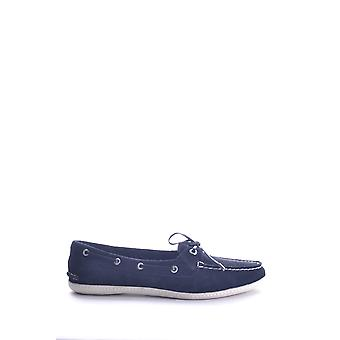 Sperry Ezbc285002 Women's Blue Fabric Loafers