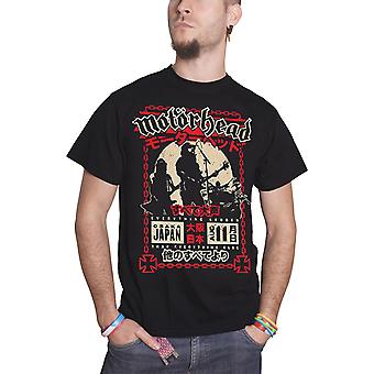 Motorhead T Shirt Everything Louder in Osaka Japan Tour Official Mens New Black