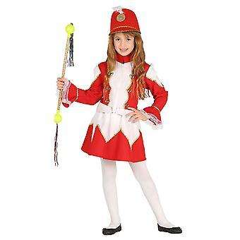 Meisjes Majorette fancy dress kostuum