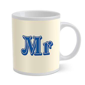 WPL Porcelain Mug, Mr