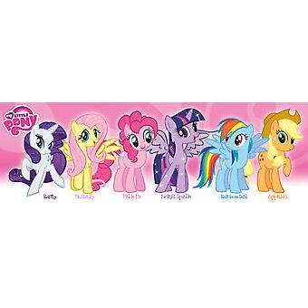 Poster - My Little Pony - Friendship Pink Group Wall Art Gifts (Slim Size) 12050