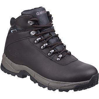 Hi Tec Mens Eurotrek Lite Waterproof Leather Walking Boots