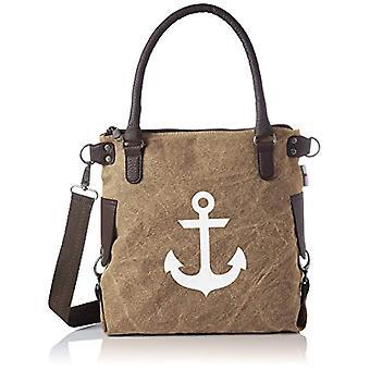 Bags4Less Anker-mini - Donna Braun (Washed-braun) 34x20x32cm (B x H T) shoulder bags