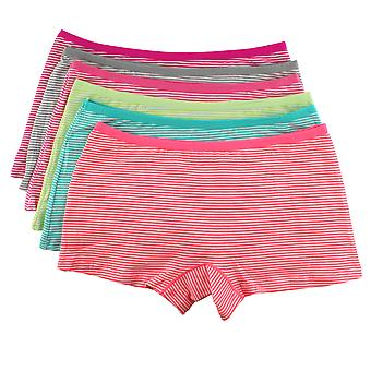 Girls Knickers/Hipster/Boxer shorts 4 pieces stripe
