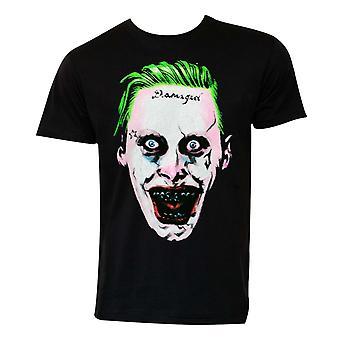 Suicide Squad Joker gezicht Tee Shirt