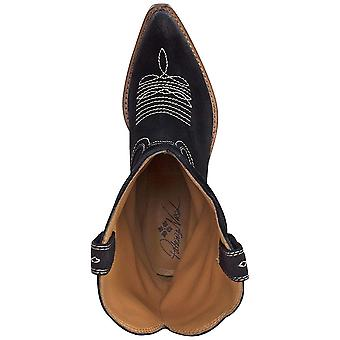 Patricia Nash Womens Bergamo Suede Pointed Toe Mid-Calf Cowboy Boots