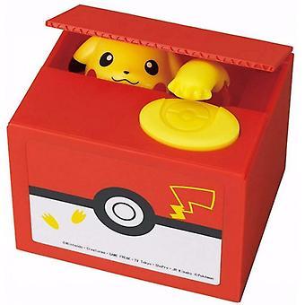 Banco electrónico de cerditos Pokémon con Pikachu