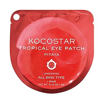 Kocostar Dragon Fruit Antioxydant Sous Eye Patch - 1 Paire