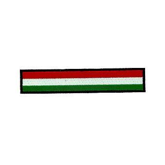 Patch Ecusson brode flag Ungarn Brassard sort rygsæk biker