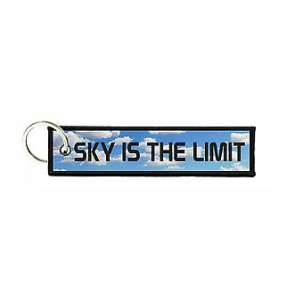 Porte cles aviation keychain voiture moto morale sky is the limit