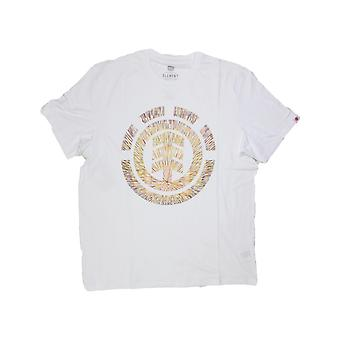 Element Brighter Days Fill Short Sleeve T-Shirt in Optic White