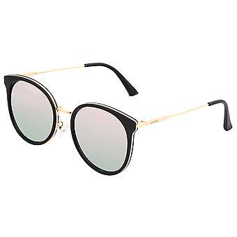 Bertha Brielle óculos polarizados-Black/Rose Gold