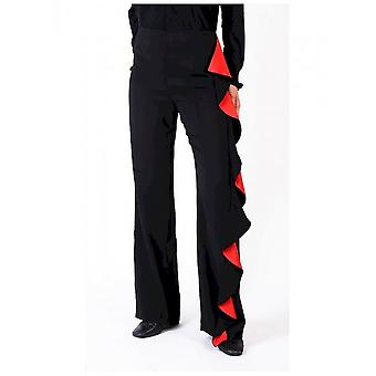 Pinko - Clothing - Pants - 1B12B0-6326_ZR4 - Women - black,red - 40