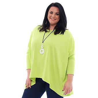 Made In Italy Slouch Jersey Top
