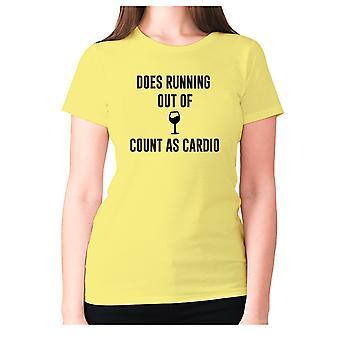 Naisten hauska juominen t-paita isku lause viini hyvät uutuus-ei juokseaa viinin määrä sydän