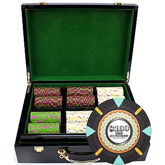 500Ct Claysmith Gaming 'The Mint' Chip Set in Hi Gloss