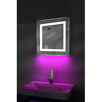 Ambient Shaver LED Bathroom Mirror With Demister Pad & Sensor k158iw