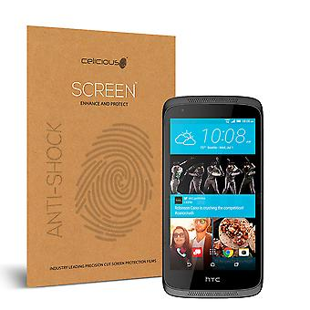 Celicious Impact Anti-Shock Shatterproof Screen Protector Film Compatible with HTC Desire 526