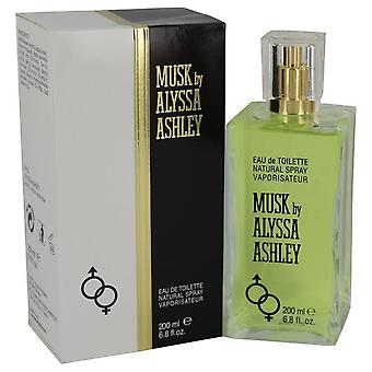 Alyssa ashley musk eau de toilette spray av houbigant 540568 200 ml