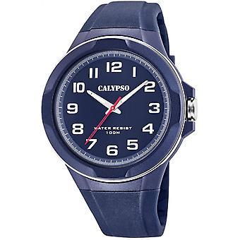 Montre Calypso Montres K5781-3 - Montre Silicone BLEU Homme