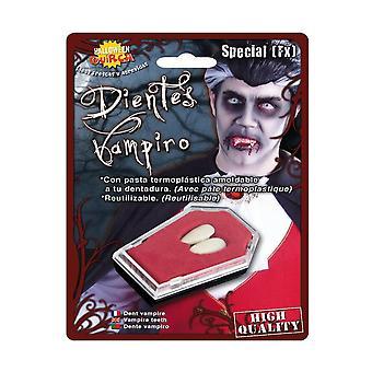 Zanne di vampiro accessori con materiale termoplastico
