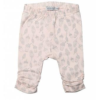 Dirkje Girls Pink Leggings Sorvete