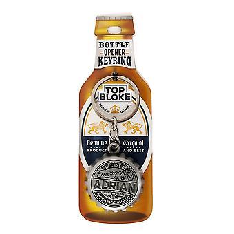 History & Heraldry Keyring - Adrian Bottle Opener