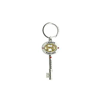 Metal London Souvenir Keyring , Large Key Souvenir