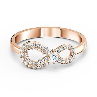 BAGUE Swarovski 5535405-ring m Tal gull uendelig krystaller satt kvinne