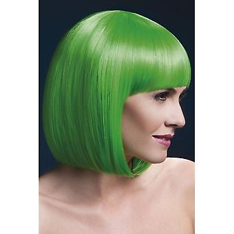 Smiffy's D# Fever Elise Wig - Neon Green