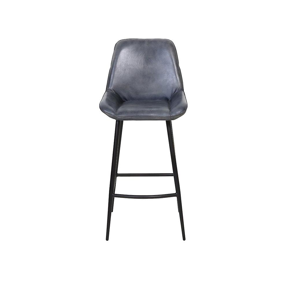 Chaise de barre légère et vivante 45x58x105cm Zuko Antik Grey