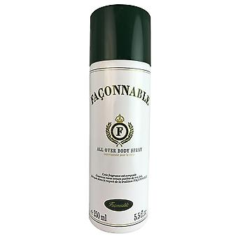 Faconnable voor mannen door faconnable 5.5 oz hele lichaam spray