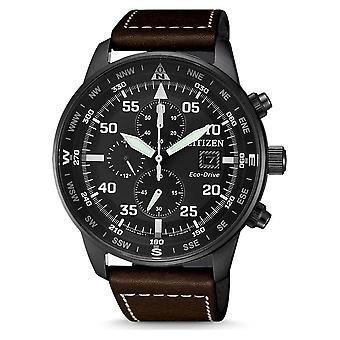 Citizen mens watch eco-drive chronograph CA0695-17E