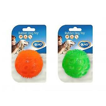 Duvo+ Tpr Sonora Ball Orange / Green 5,5cm (Dogs , Toys & Sport , Balls)