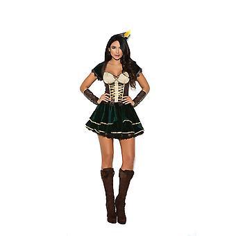Elegant Moments Womens Archer Hunter Ranger Halloween Costume