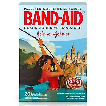 Band-aid bandages, elena of avalor, assorted sizes, 20 ea