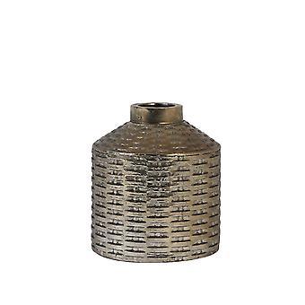 Light & Living Vase Deco 16x18cm Wick Ceramics Bronze