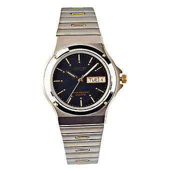 Eton Unisex Stainless Steel Watch, 3 ATM, Day Date, Mid Size Case - 1206G