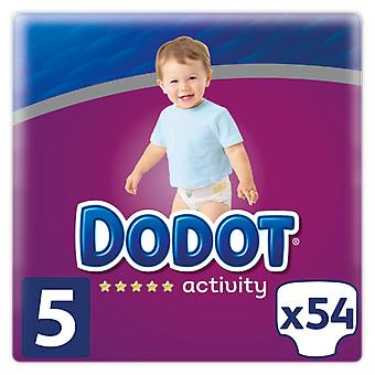 Dodot Activity Diaper Size 5 with 54 Units (Baby & Toddler , Diapering , Diapers)